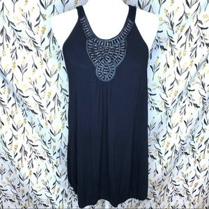 Lane Bryant Beaded Sleeveless Blouse Size 22/24